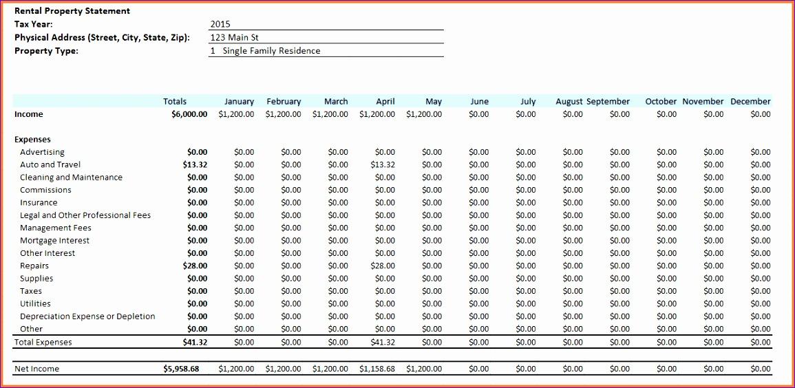 4 rent tracker spreadsheet