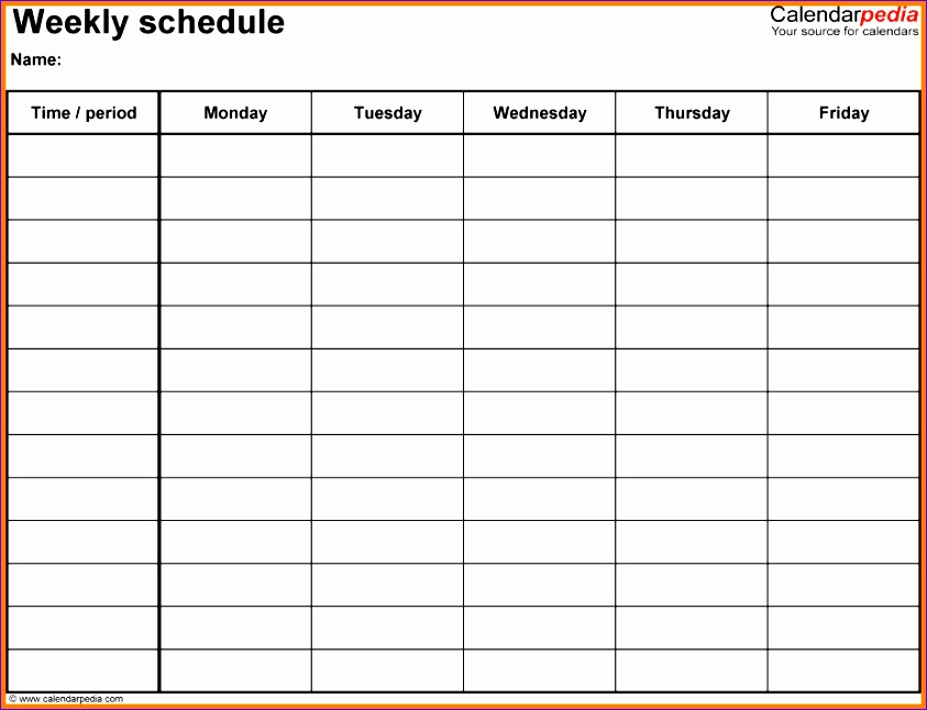 9 week planner template excel 843646