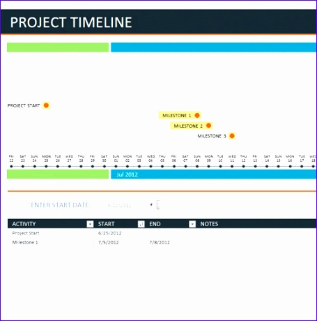 Excel Template Project Timeline ExcelTemplates ExcelTemplates - Excel 2010 project timeline template