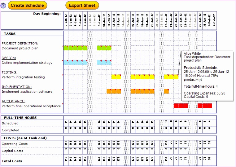 excel project management template 762541