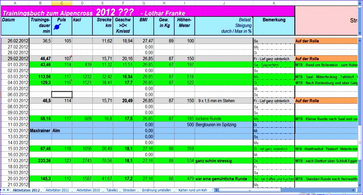 trainingsplaene 1233665