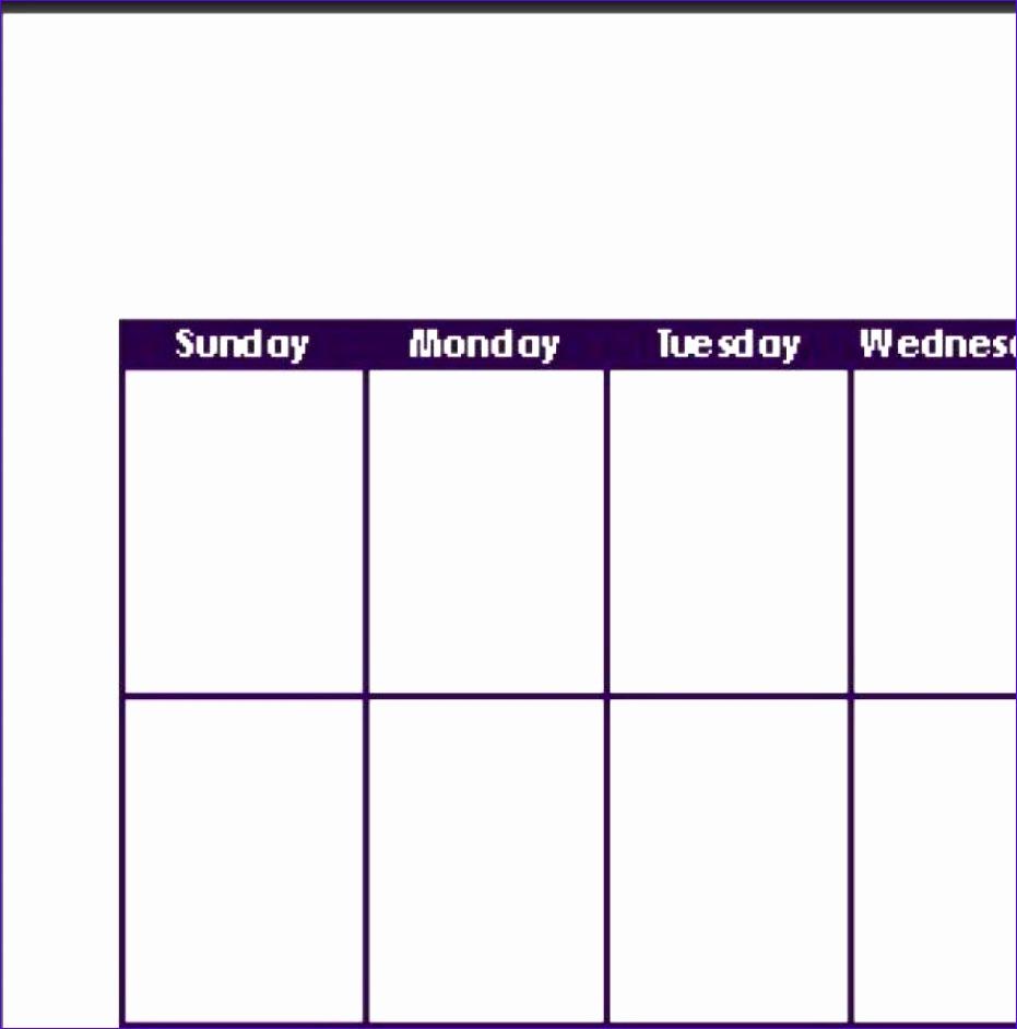 12 excel template weekly calendar