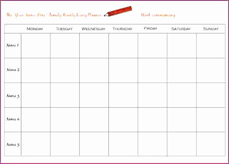 5 weekly planner online 771552