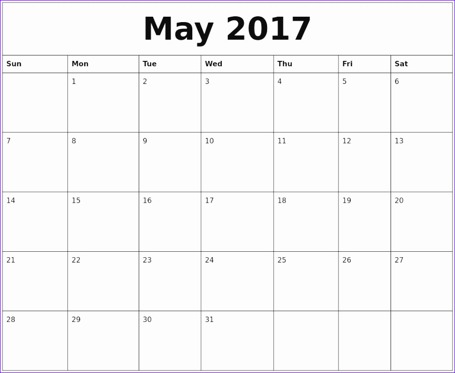 may 2017 calendar word 1559