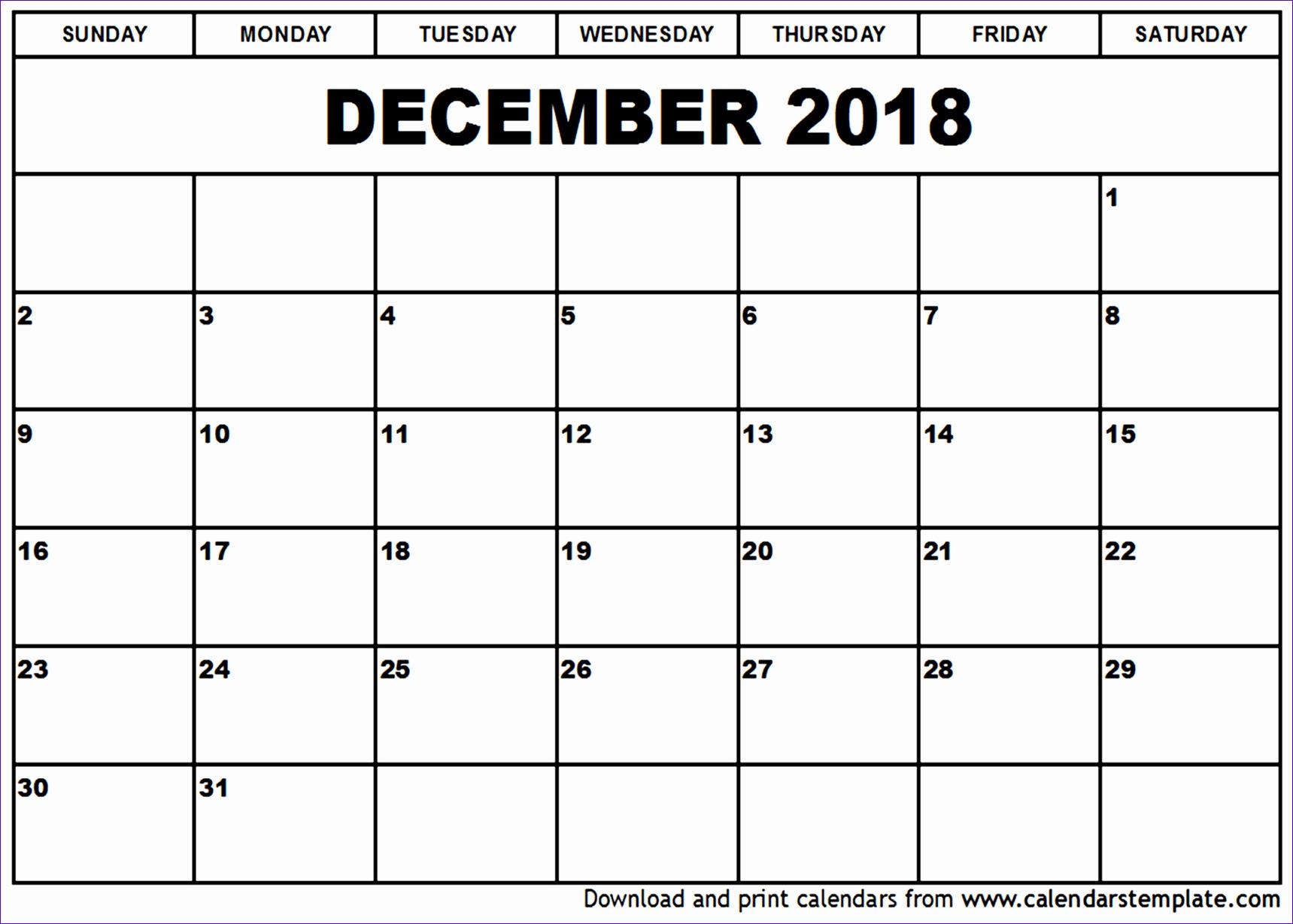 december 2018 calendar 1296 17191229