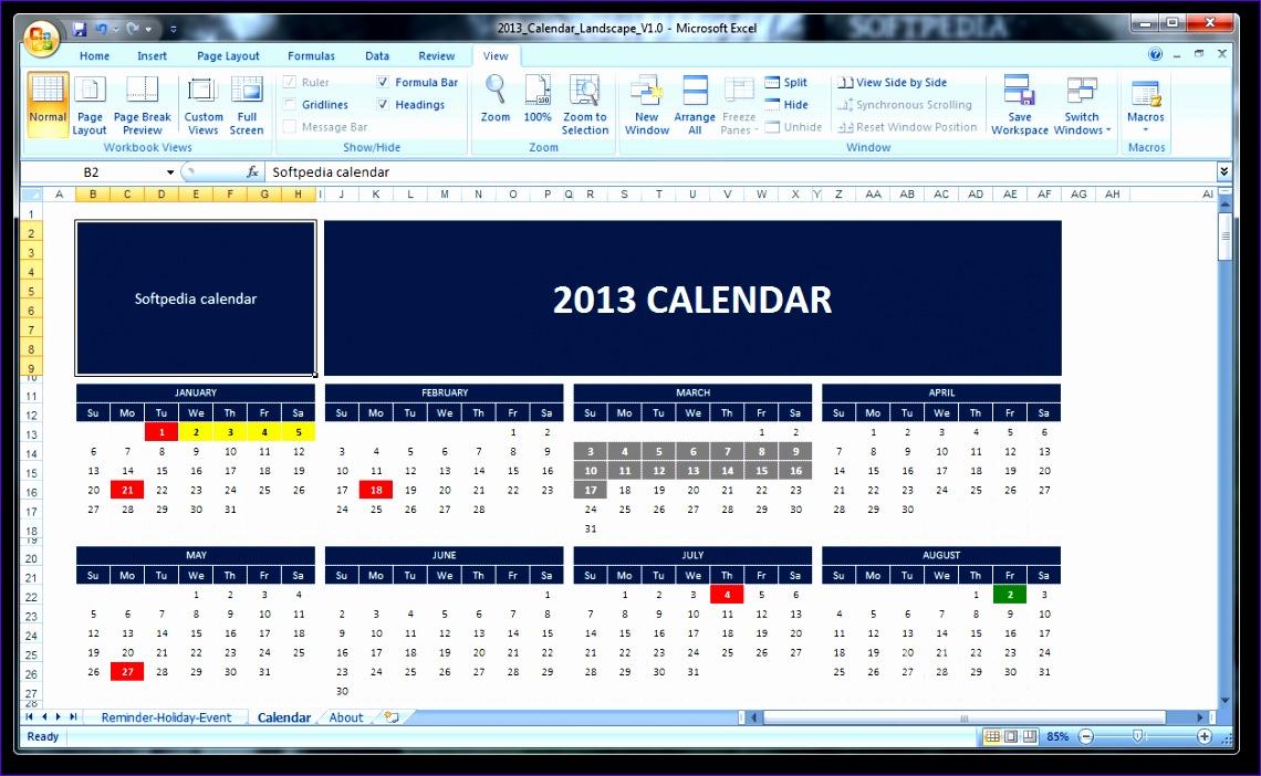 2013 Calendar Screenshot 1140702