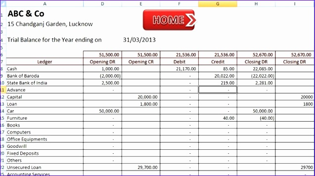 abcaus excel accounting template enftonic
