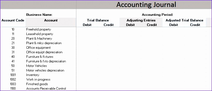 bookkeeping for small business template free 722312