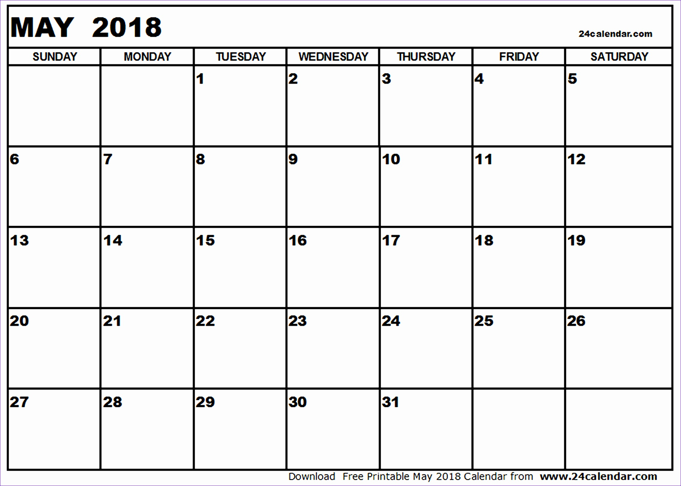 may 2018 printable calendar 754 22701622