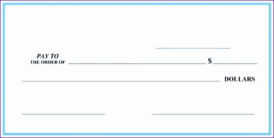 51 blank check templates