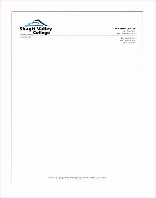letter head format 980 500634