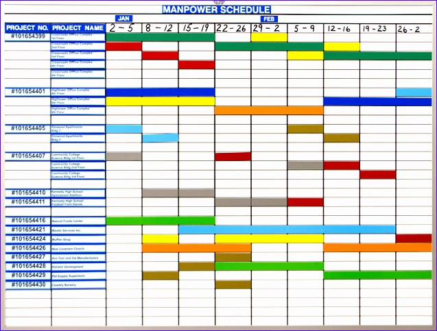 Excel Templates for Scheduling Eh2mqd Awesome Manpower Schedule 700526