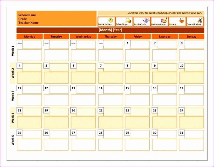 Class calendar TM 706552