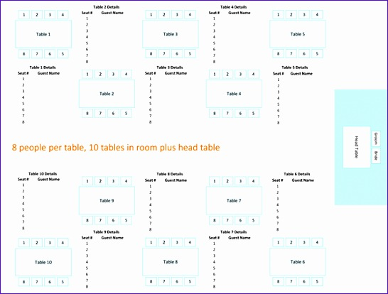 wedding reception seating chart round or 1512 546414