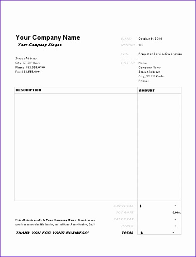 invoice excel template free 9496 invoice templates