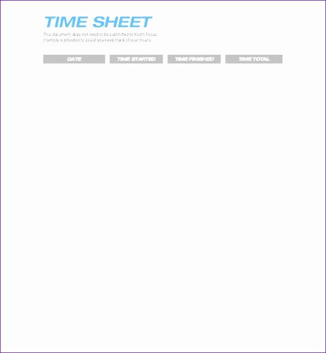 timesheet template 637690