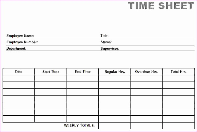 8 printable time card 687460