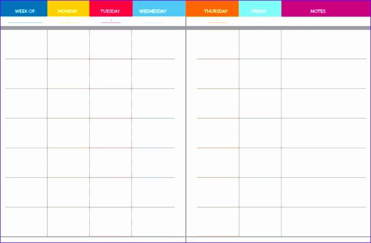 week agenda template 728477