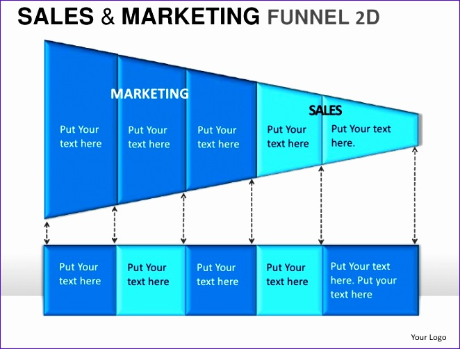 sale and marketing funnel 2d powerpoint presentation templates 662502