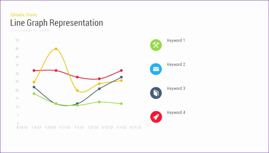 line chart representation powerpoint 931529