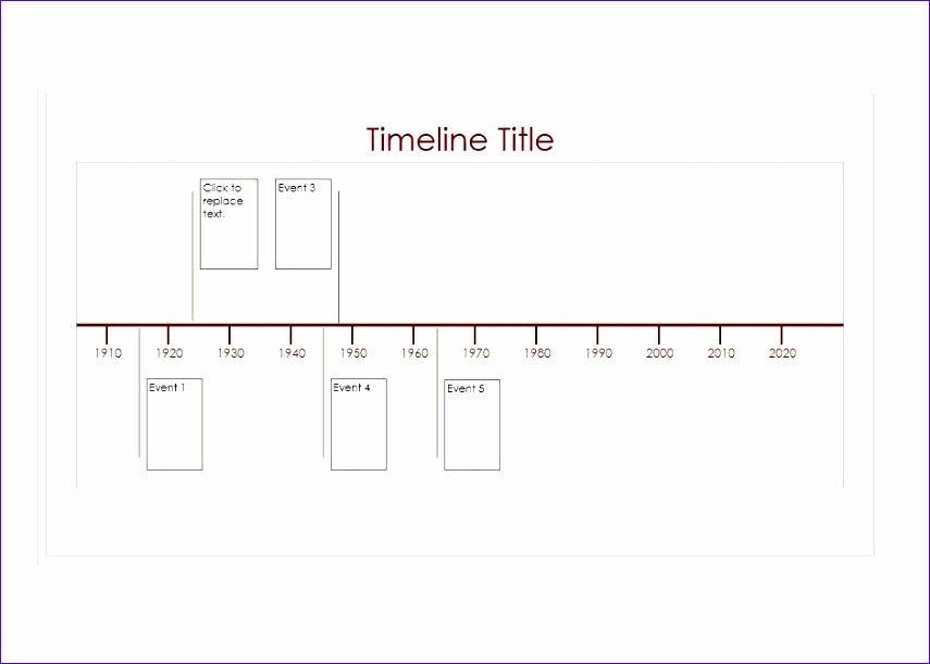 timeline templates 855611