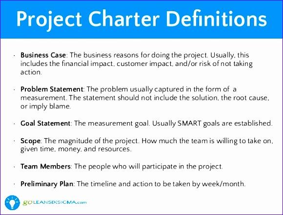 lean six sigma project charter goleansixsigma 580440