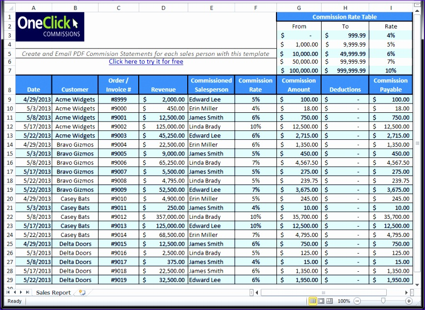 4 excel payroll template 867632