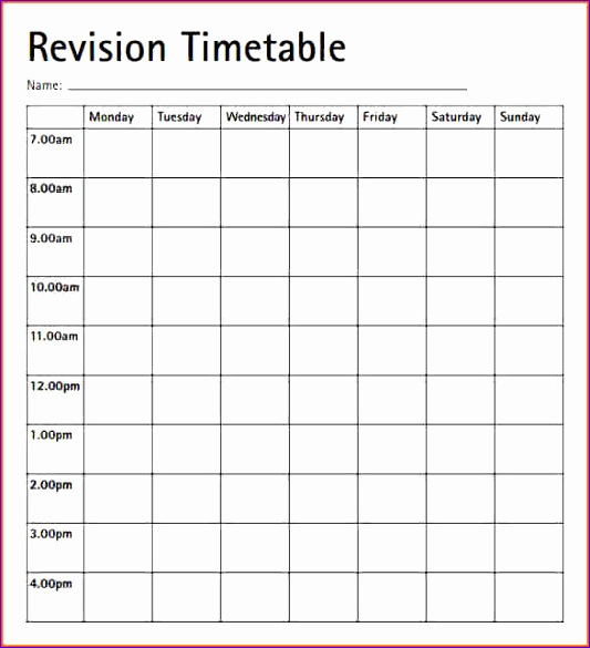 Excel Timetable Template  Exceltemplates  Exceltemplates