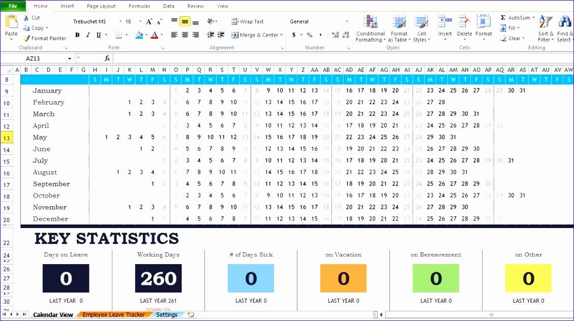 employee attendance report template 1129632