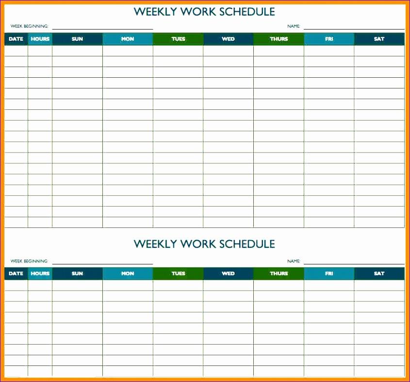 10 meeting schedule template excel 845786