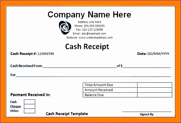 5 cash salary slip format 632428