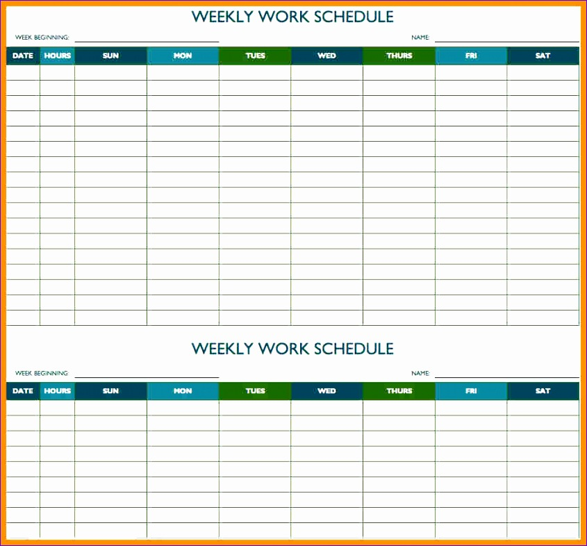 10 meeting schedule template excel 845786