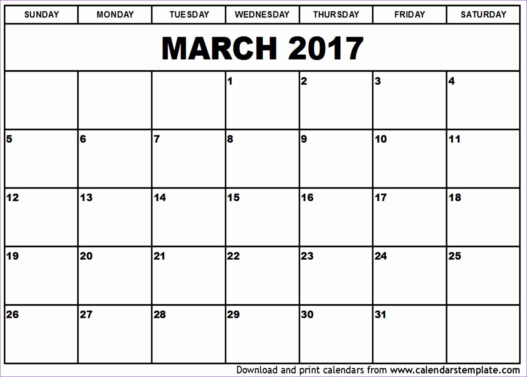 march 2017 calendar 17191229