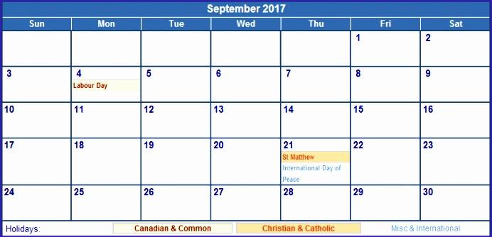 september 2017 calendar with holidays 110 692334
