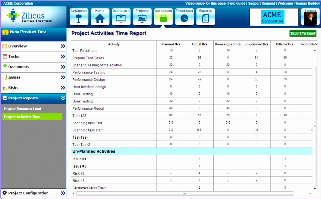 early preview of zilicuspm 5 1 online project management software 1023633