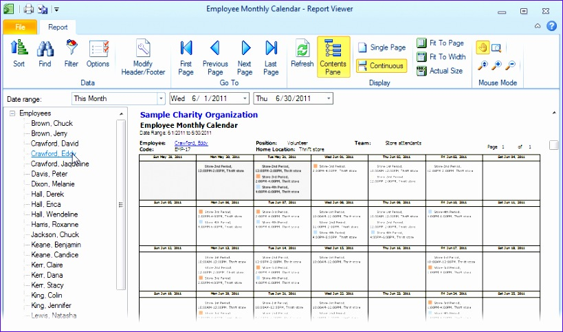 monthly employee schedule template excel 877 819483