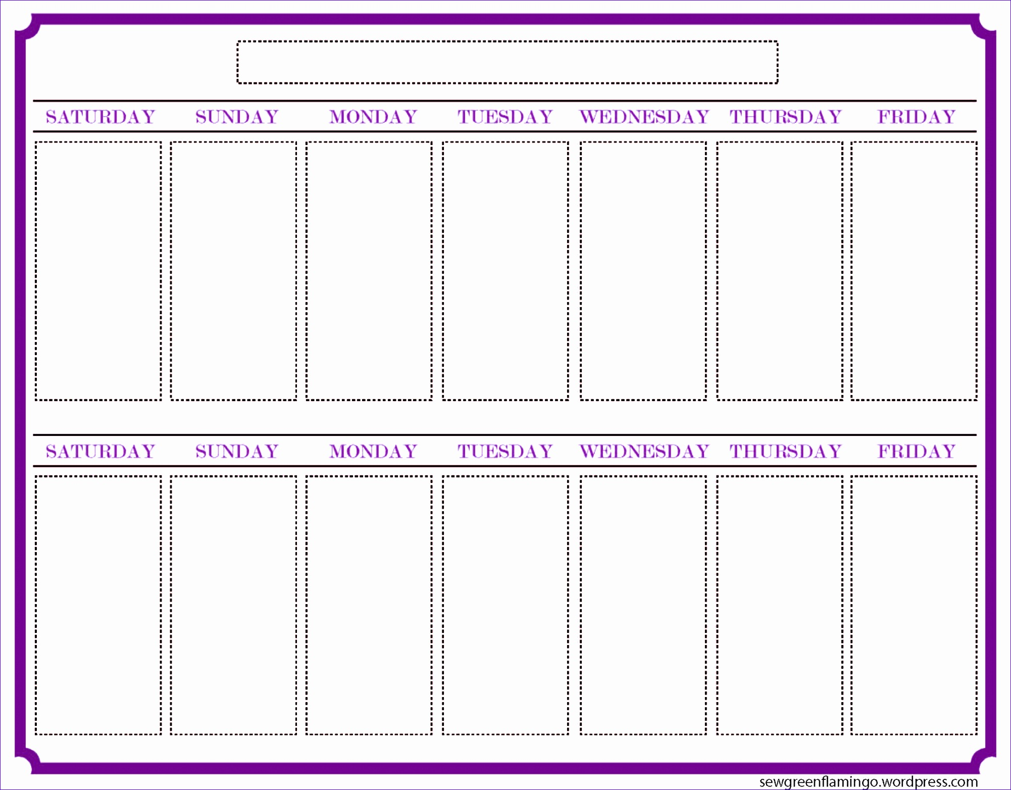 calendar timetable template 20021564