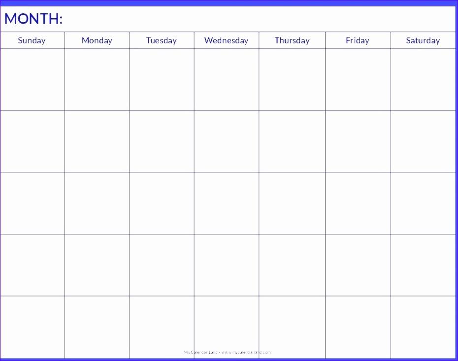free blank calendar template 2017 930733