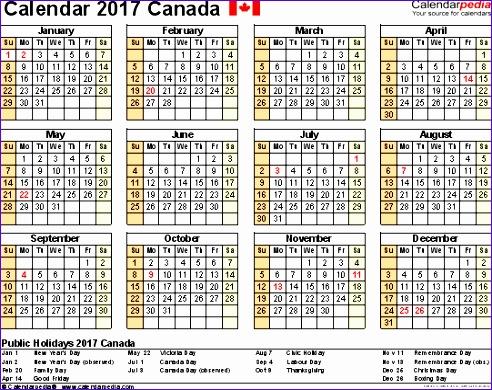 august 2017 calendar canada 561