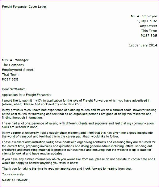 format of forwarding letter 515604