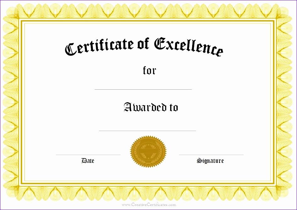 award certificate template 946670