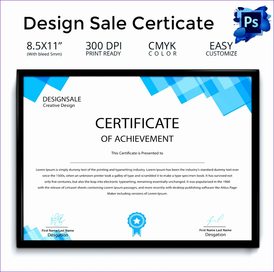 45 desain template sertifikat untuk ijazah dan penghargaan