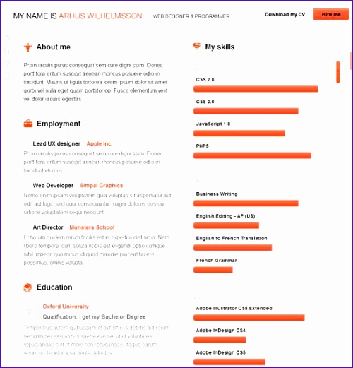Excellent Resume Template  Exceltemplates  Exceltemplates