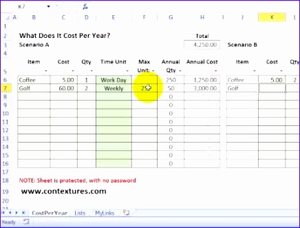 Watch Vu003dTOKpBbGCyUs. Calculate Annual Costs And Savings With Excel  TemplateExpense Report Template Excel  Annual Expense Report Template