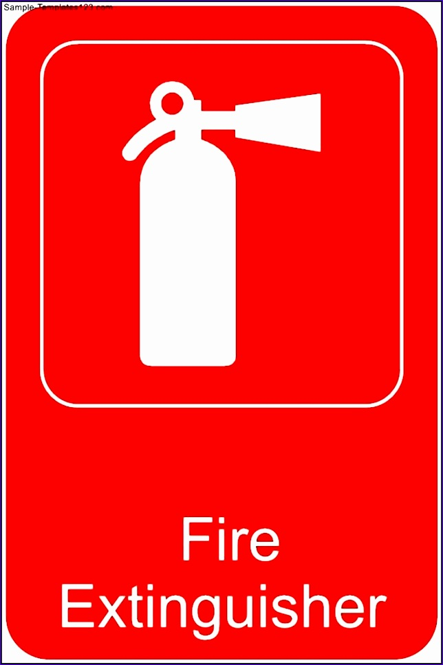 fire extinguisher template 644967
