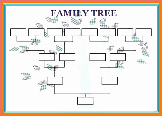 9 family tree template excel - exceltemplates