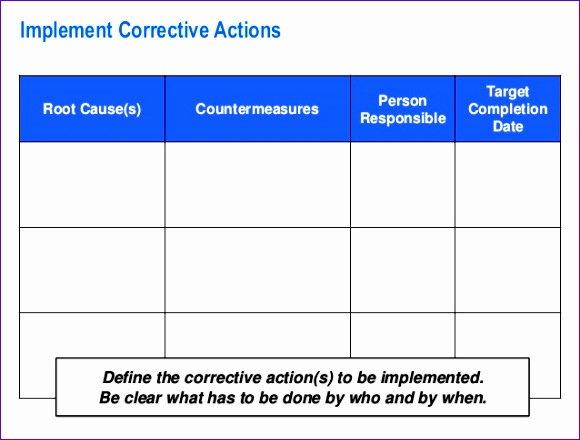 pdca problem solving template by operational excellence consulting 580440