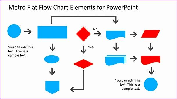 diagrama de flujo en power point 609342