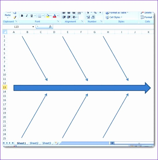 Fishbone Excel Template H0cvd Awesome How to Create A Fishbone Diagram In Microsoft Excel 2007 600600