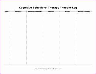 CBT Thought Log 331258